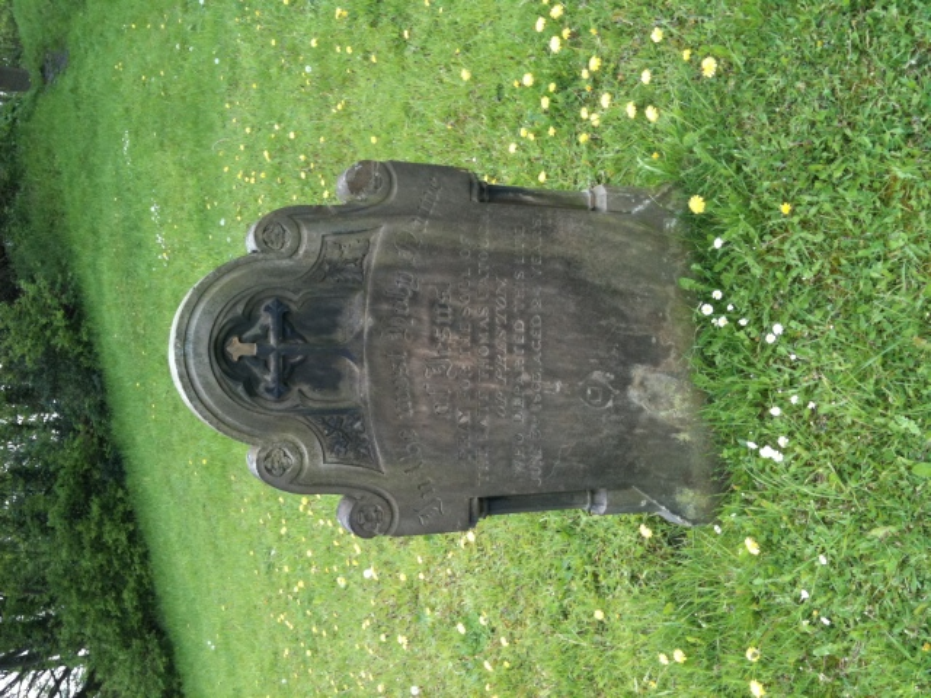 grave from walton-le-dale churchyard